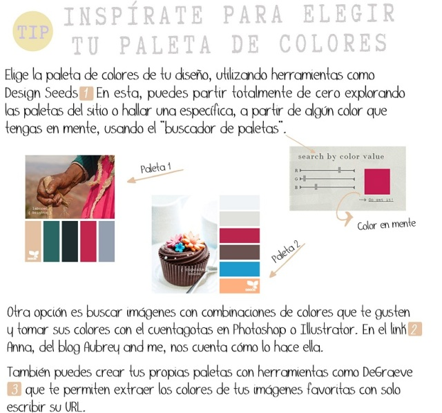 Inspírate para elegir tu paleta de colores | Apuntes Multimedia