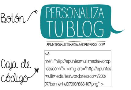 """Personaliza tu blog-3: Cómo hacer un """"Grab Button"""""""